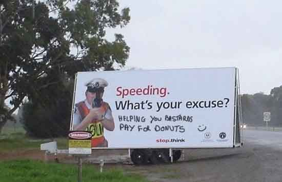 speeding donuts