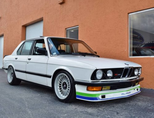 For Sale: Drool-worthy 1988 BMW 535i Alpina conversion