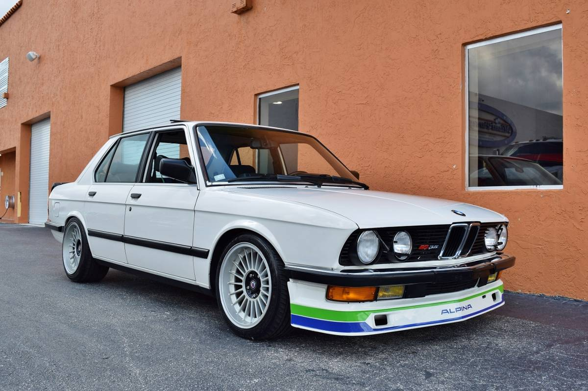 1988 BMW E28 535i Alpina conversion