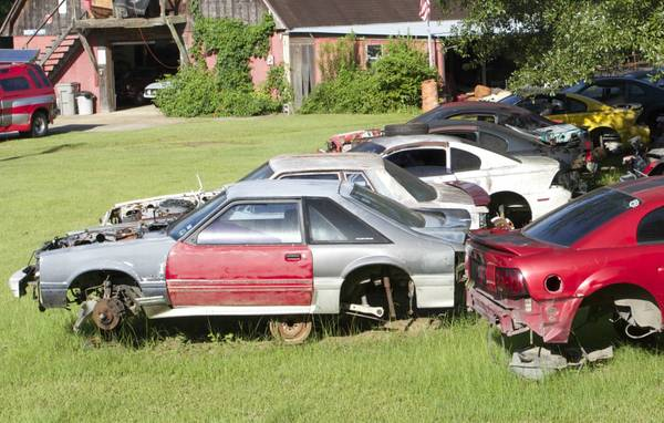 Craigslist: Entire Contents Of Mustang Junkyard For Sale