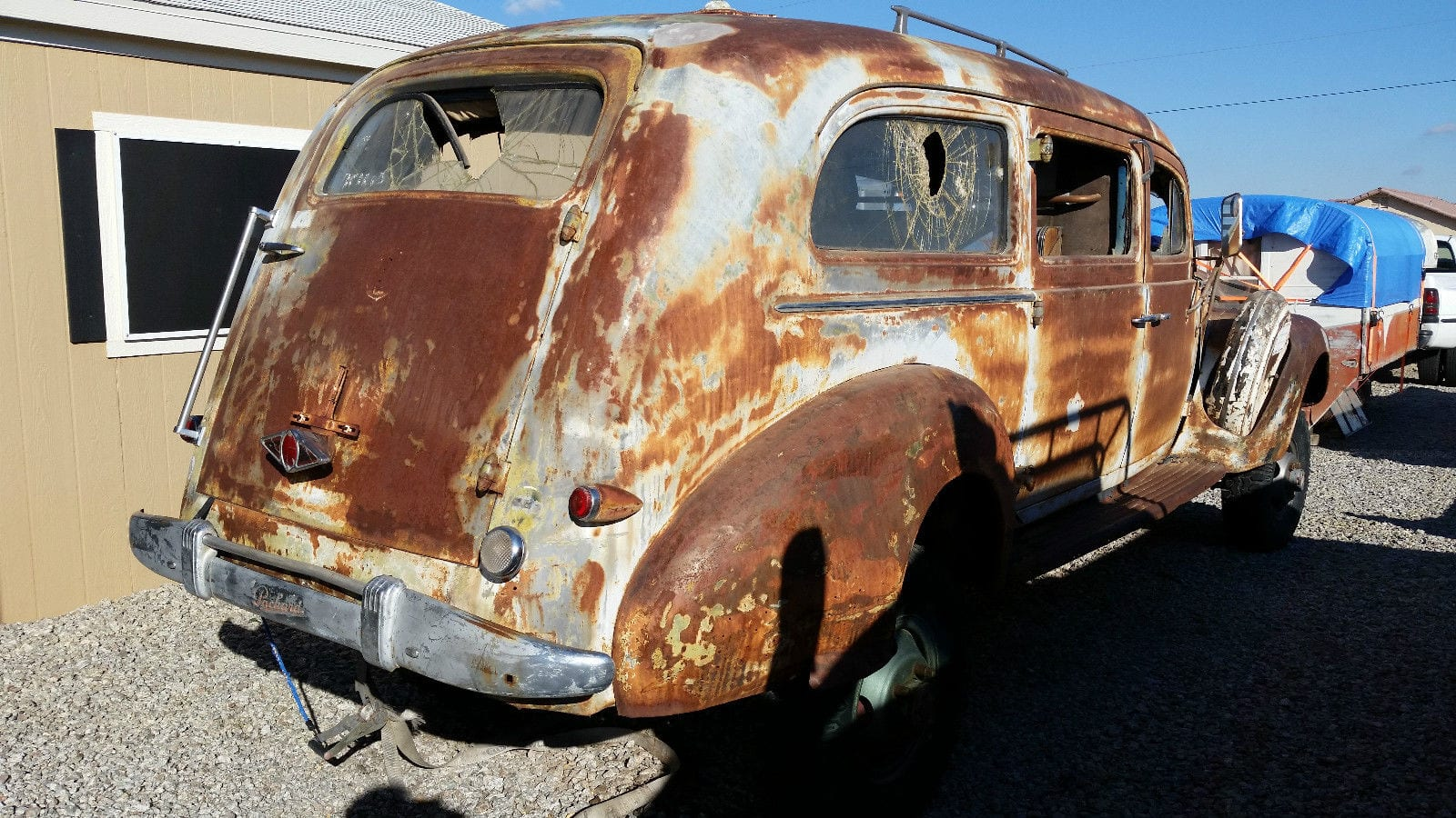 1942 Packard 4x4 Ambulance: A Suitable Project on which to