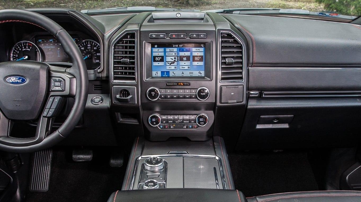2019 Ford Explorer Dash