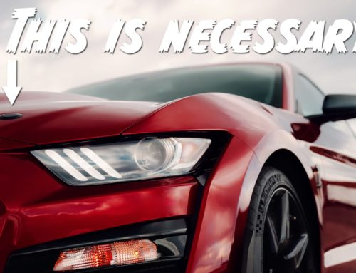 Hood pins on a production car? Ford says yes when it's the Shelby GT500