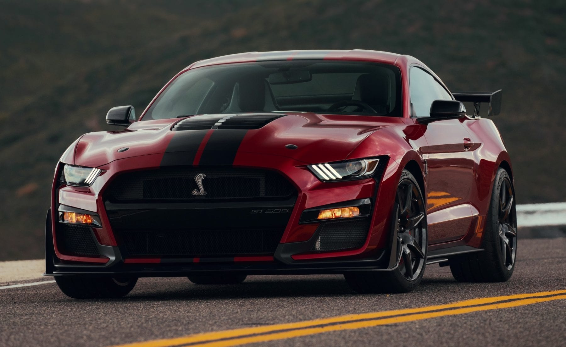 Return of the King - 2020 Mustang Shelby GT500 | Hooniverse