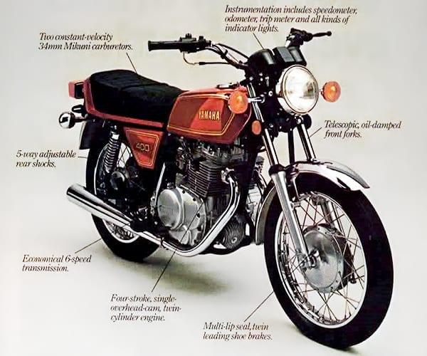 1978 Yamaha XS400E