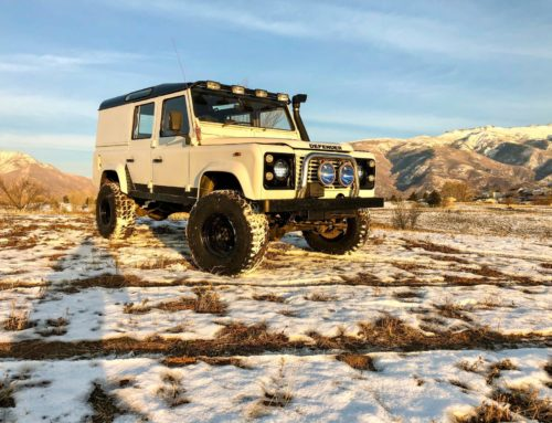 Buy this 1993 Land Rover Defender 110 now!