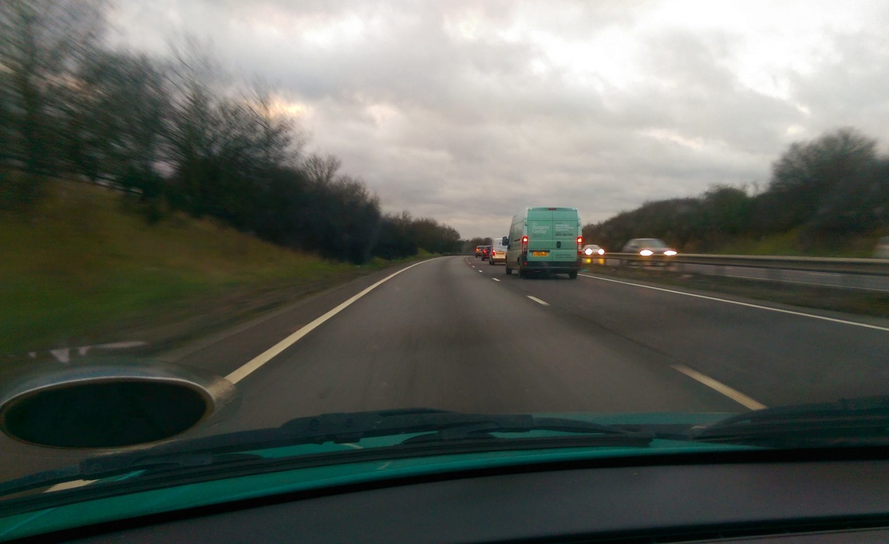 A303 and M3 - before the storm
