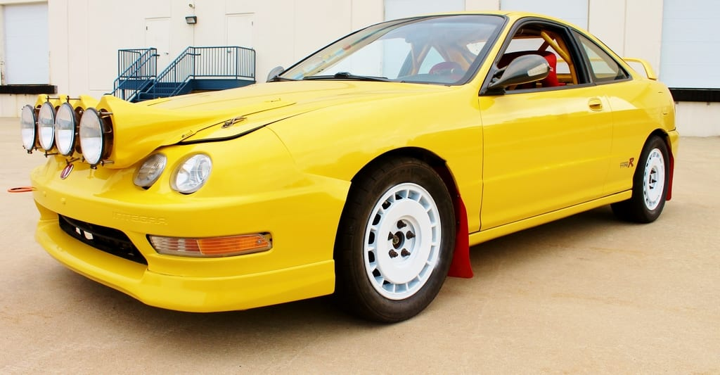 For Sale: Acura Integra Type R Rally Race Car | Hooniverse