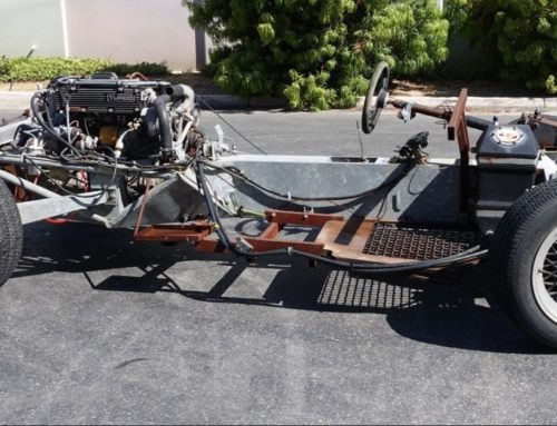 Build your dream sports car with this 1983 Lotus Esprit rolling chassis