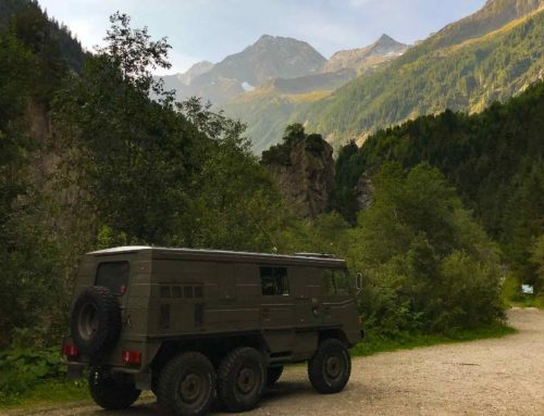Search for Family Camper: Pinzgauer 712K