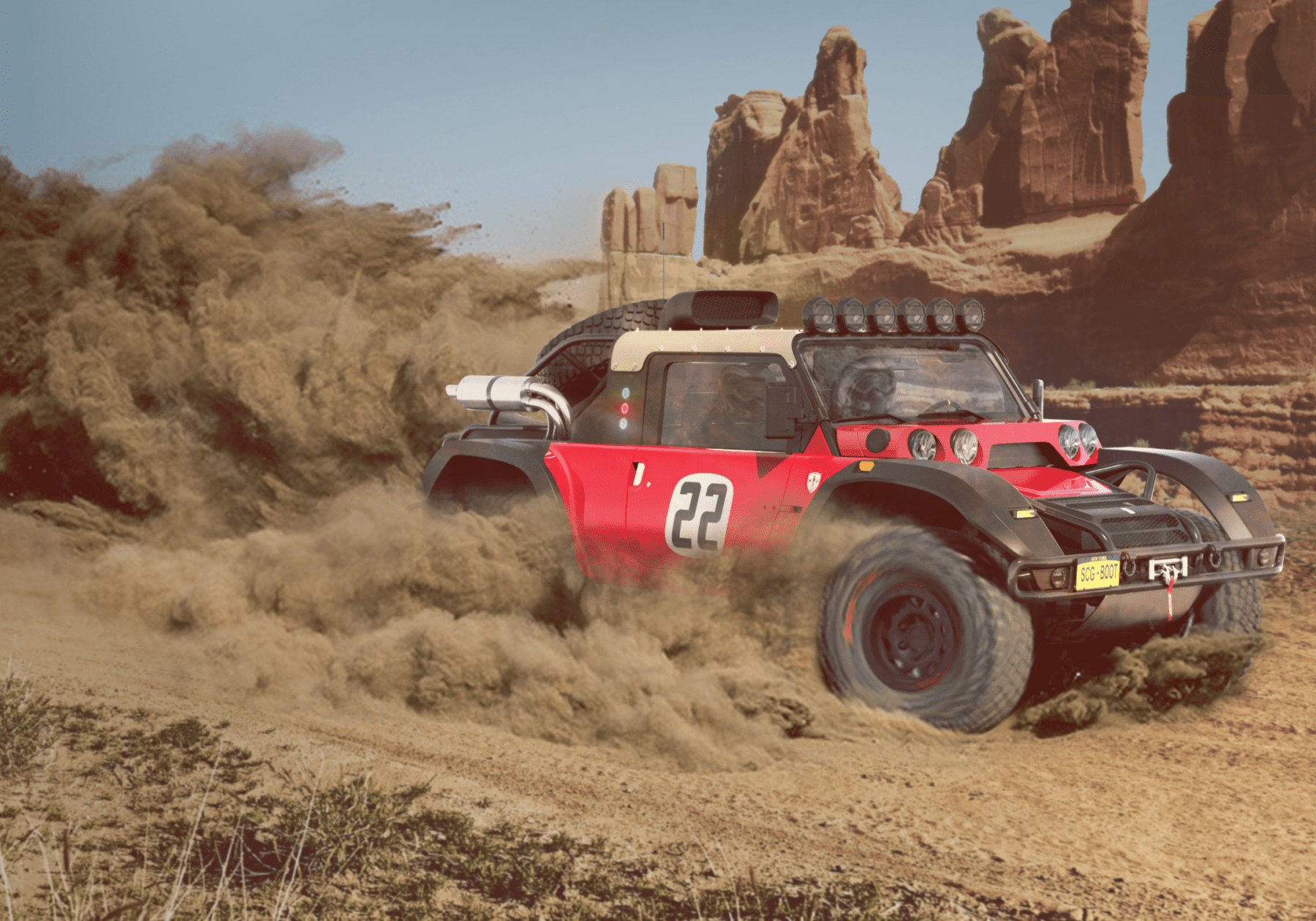 SCG Boot is ready for Baja in 2019