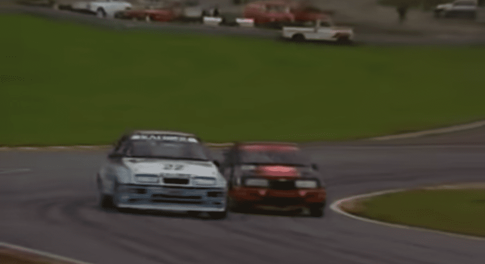 Soper vs Rouse BTCC Brands Hatch 1988