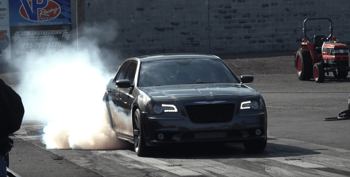 Chrysler 300C with Hellcat block and turbosChrysler 300C with Hellcat block and turbos