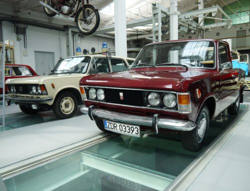 The Car Collection of the Museum of Technology and Communication in Szczecin, Poland