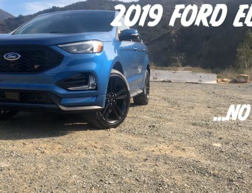 2019 Ford Edge ST: …this one isn't for me