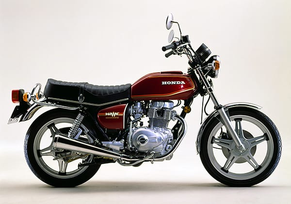 1978 Honda CB400A Hondamatic Hawk