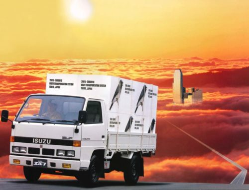 Classic Captions Contest: 1987 Isuzu Elf 150 Edition