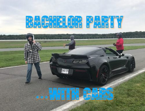 Bachelor party surprise: Ferrari, McLaren, Corvette, and Pocono Raceway