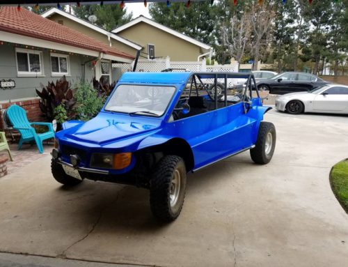 Every thing is an adventure if you drive this street-legal dune buggy