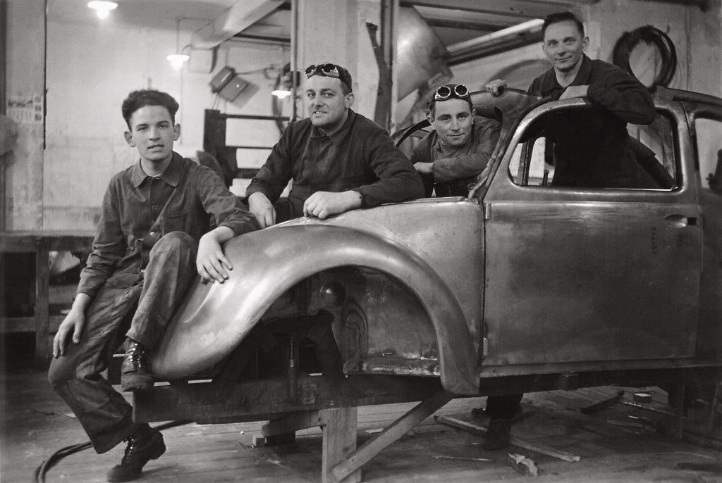 Volkswagen Prototypen Reutter 1938
