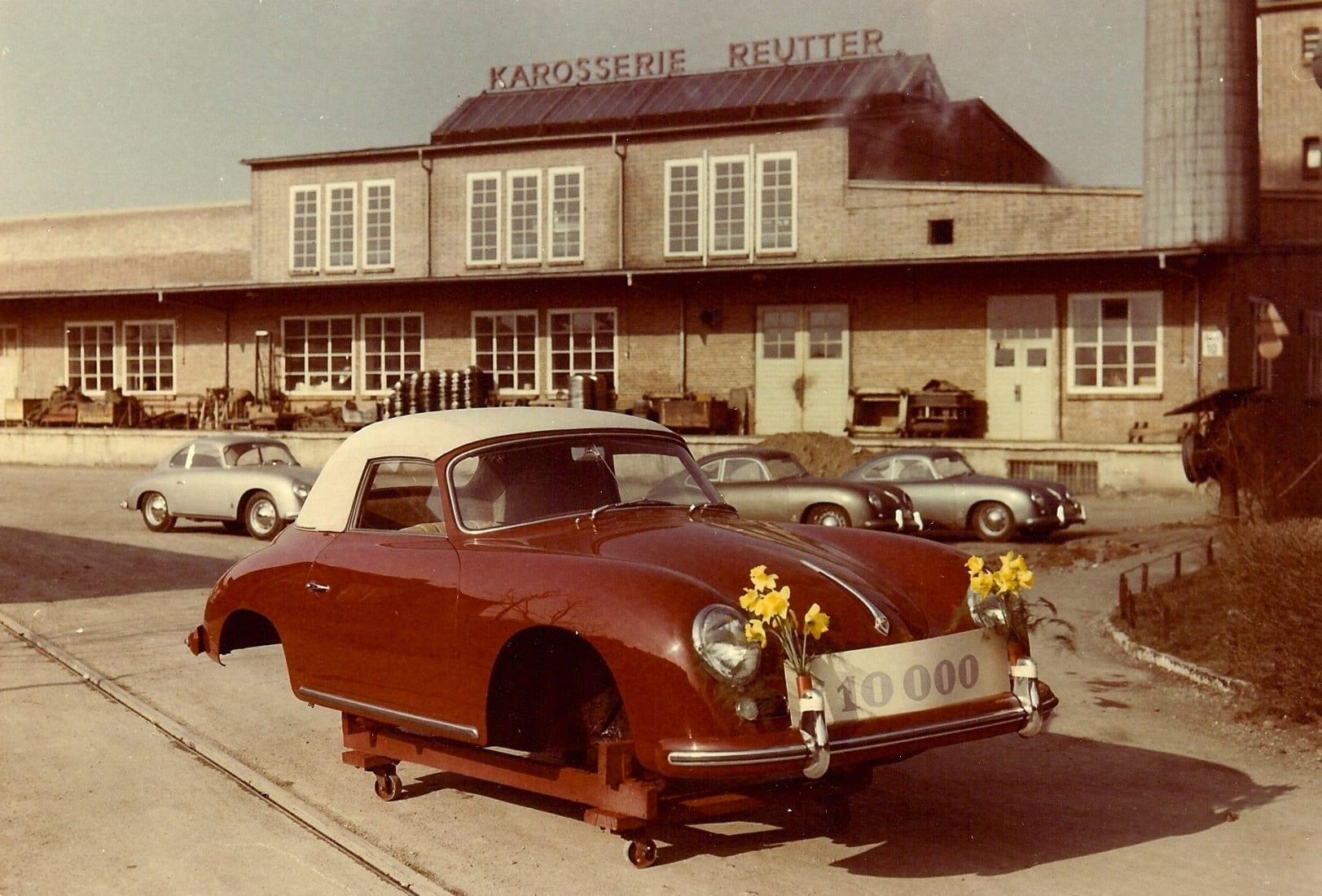 1956 Porsche at Reutter