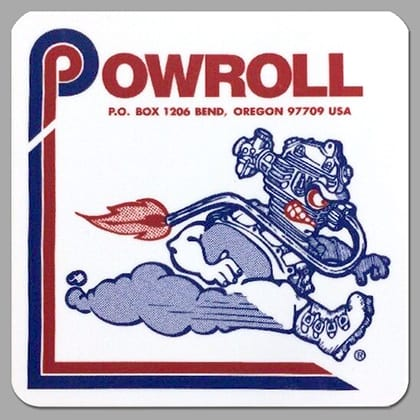 The Powroll logo Pete mentions.