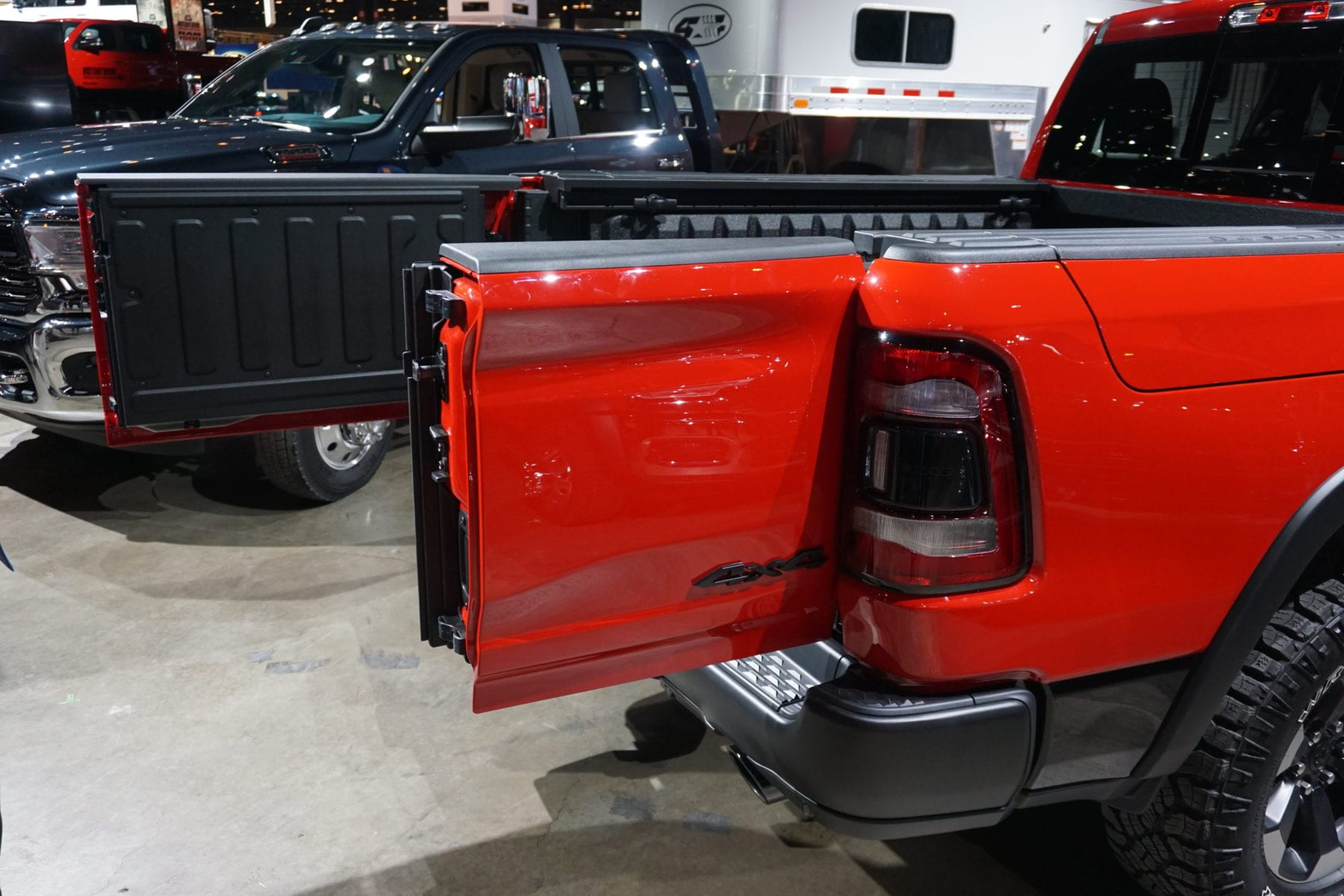 The 2019 Ram 1500's new multi-function tailgate