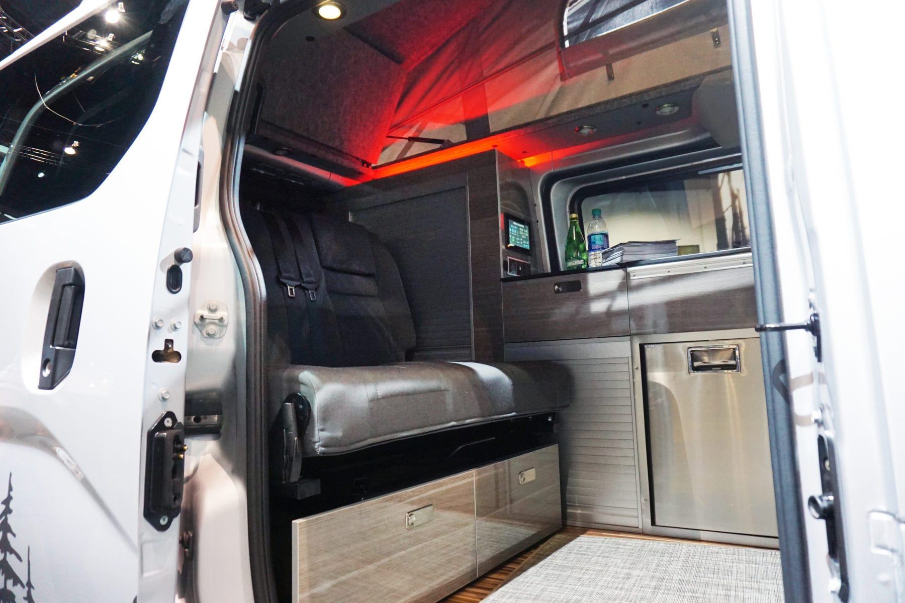 interior of the Recon Campers Envy