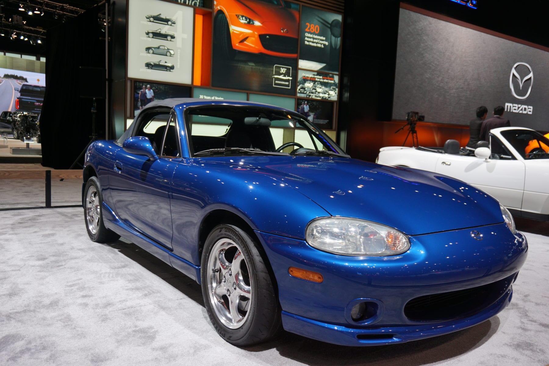 10th anniversary 1999 Mazda mx-5 miata