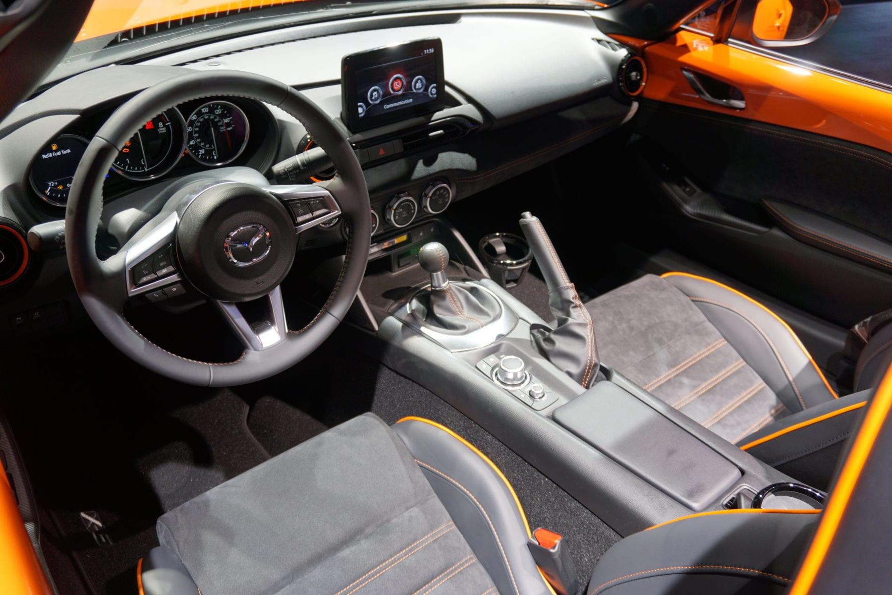 30th-Anniversary Mazda MX-5 Miata, interior, recaro seats