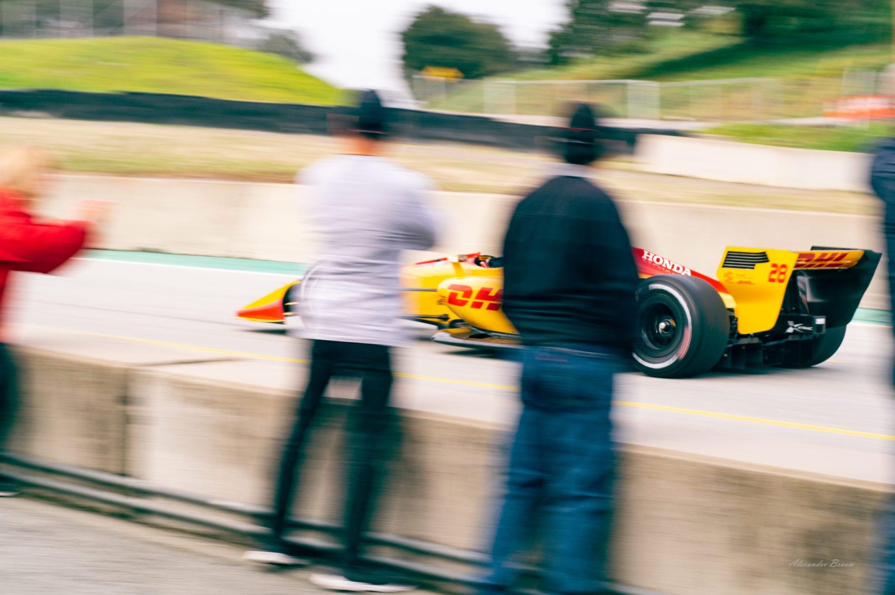 InsyCar Testing at WeatherTech Raceway Laguna Seca, Friday Feb. 8, 2019