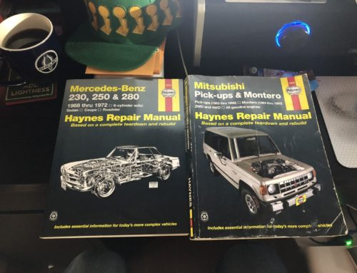 Hooniverse Asks: Do you have a Haynes Manual nearby?