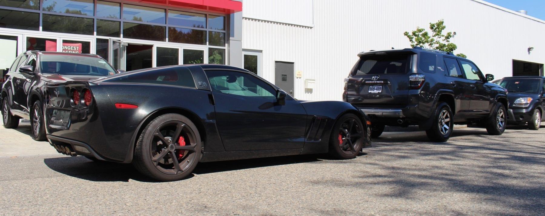 C6 Corvette Grand Sport Centennial Edition and 4Runner TRD Off Road Premium