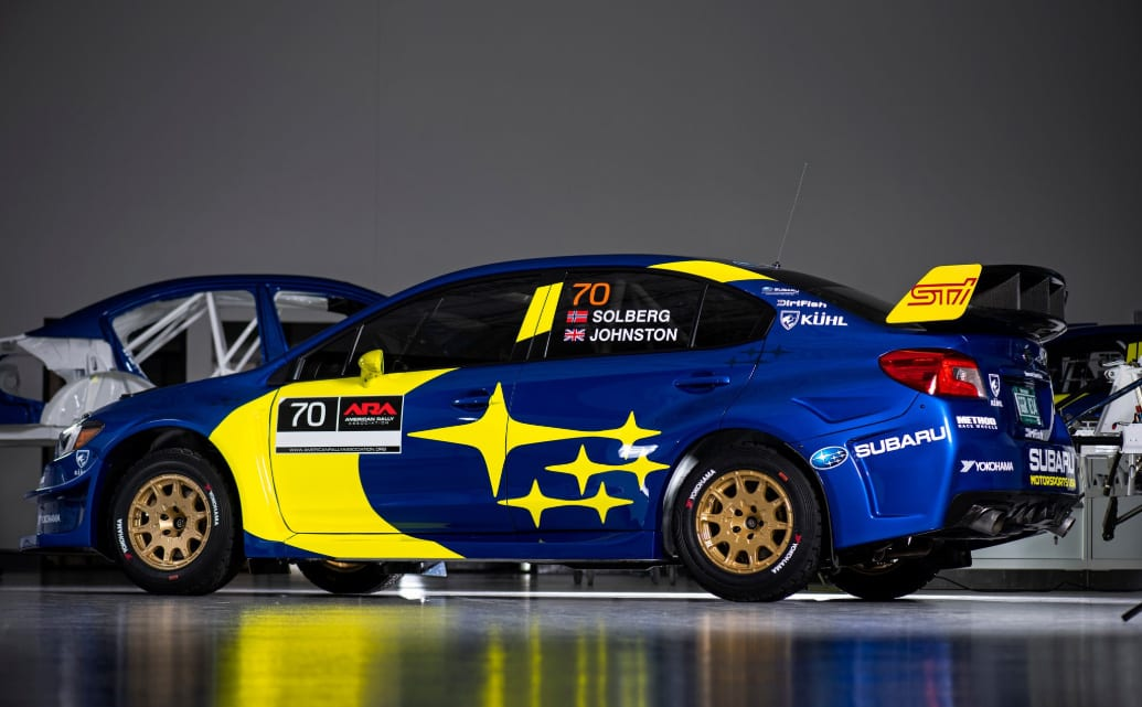 Oliver Solberg Subaru Rally