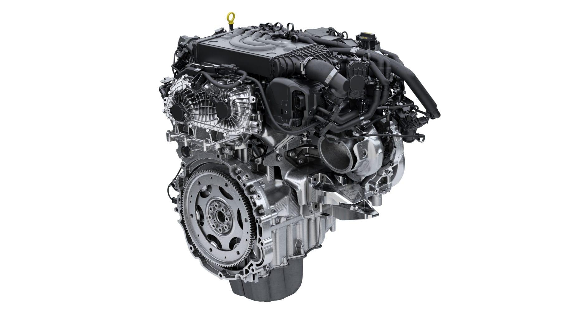 Range Rover Sport HST engine