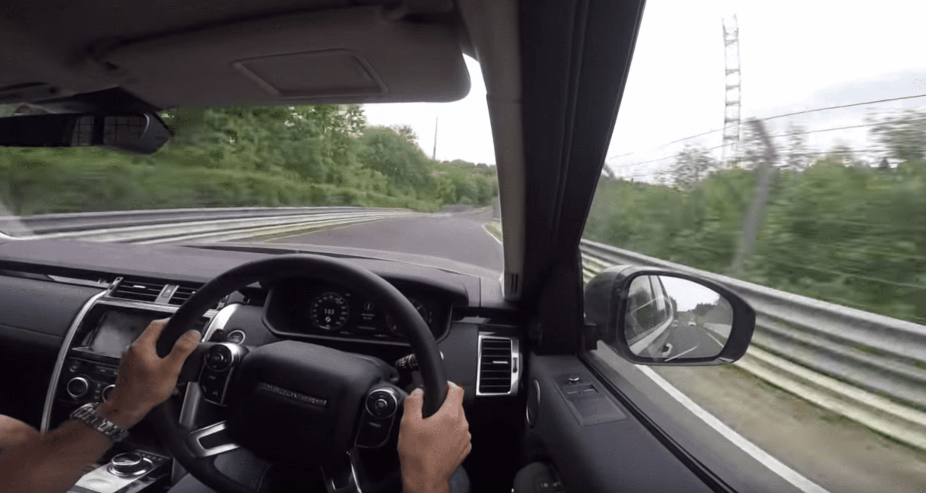 Land Rover Discovery at the Ring