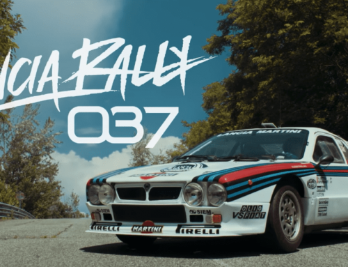 This is the Lancia Rally 037 by the numbers