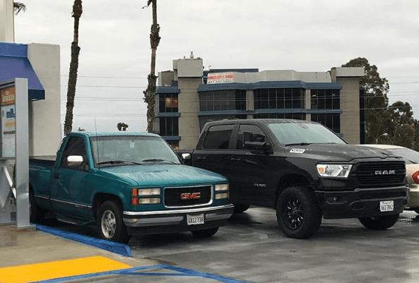 full-size truck vs full-size truck