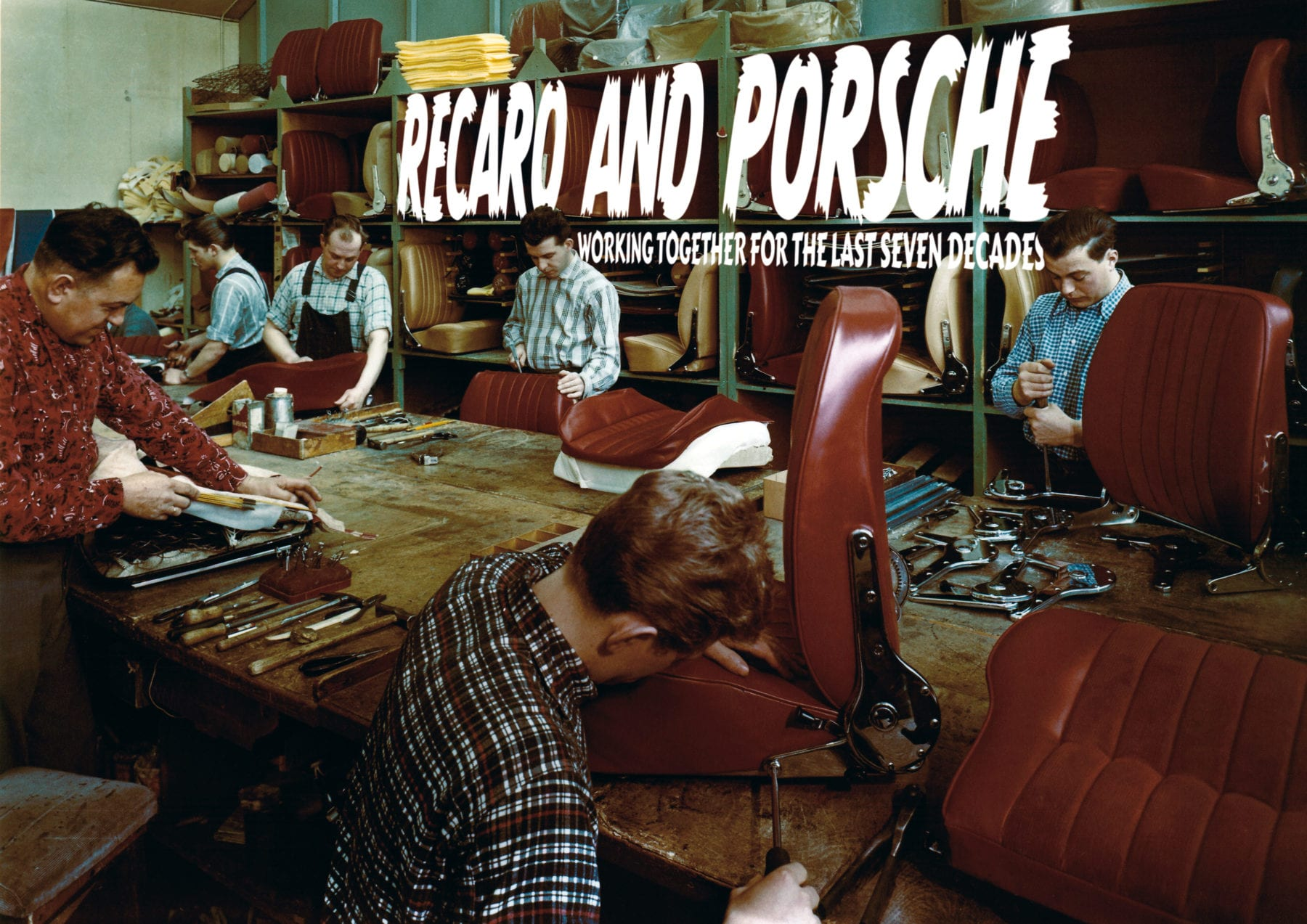 recaro and porsche