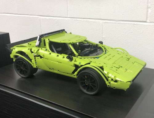 Build this LEGO Technic Lancia Stratos out of your Porsche GT3 RS