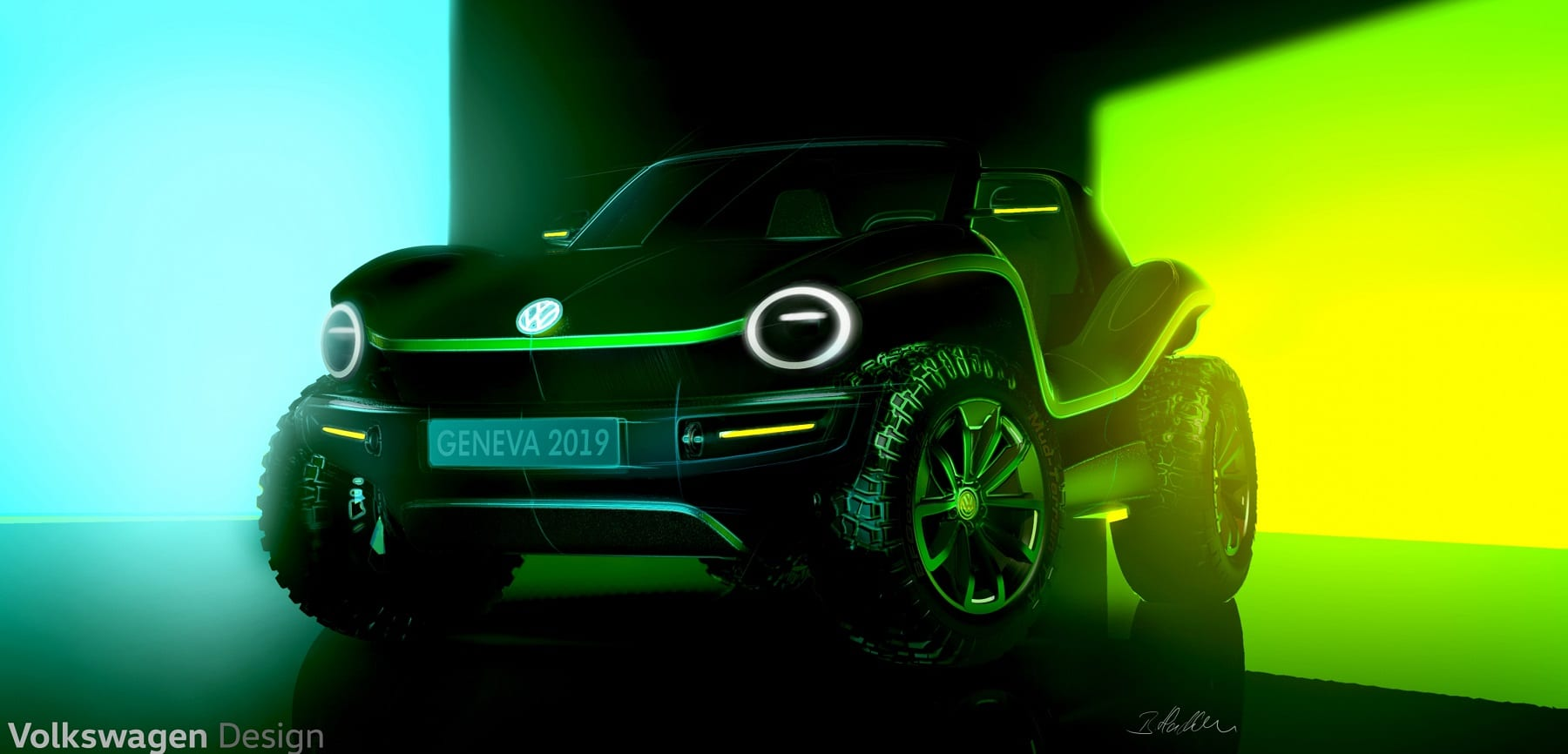 vw ebuggy concept