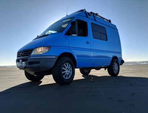 Buy this AWD-converted Sprinter and live out your overlanding fantasies