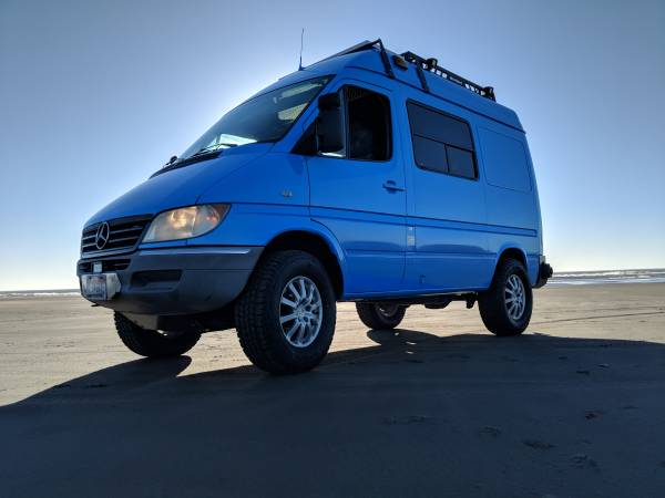 AWD Sprinter Van
