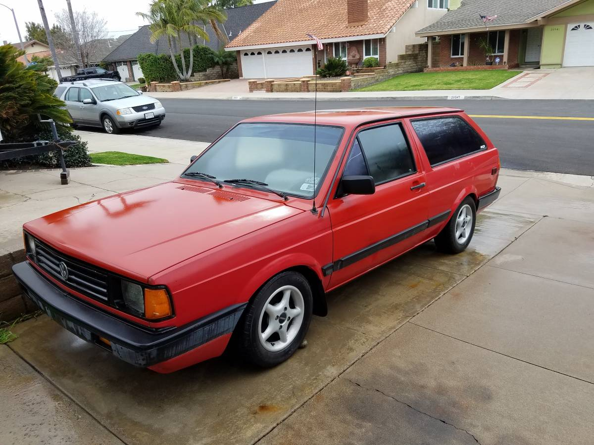 1990 VW Fox wagon
