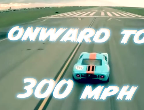 Watch this Ford GT go 300 mph