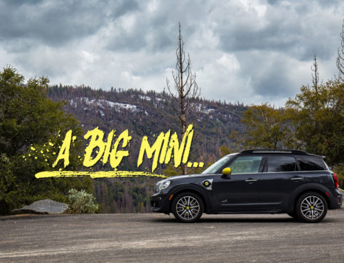 The Mini Countryman is a maximum Mini