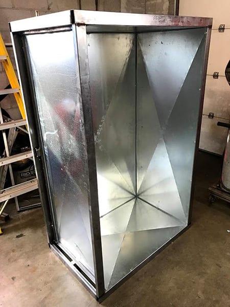 Garrett's Powder Coating Oven