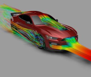 2020 GT500 Aerodynamic and Cooling Data Explained