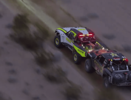 Jenson Button got a proper introduction to off-road racing at the Mint 400