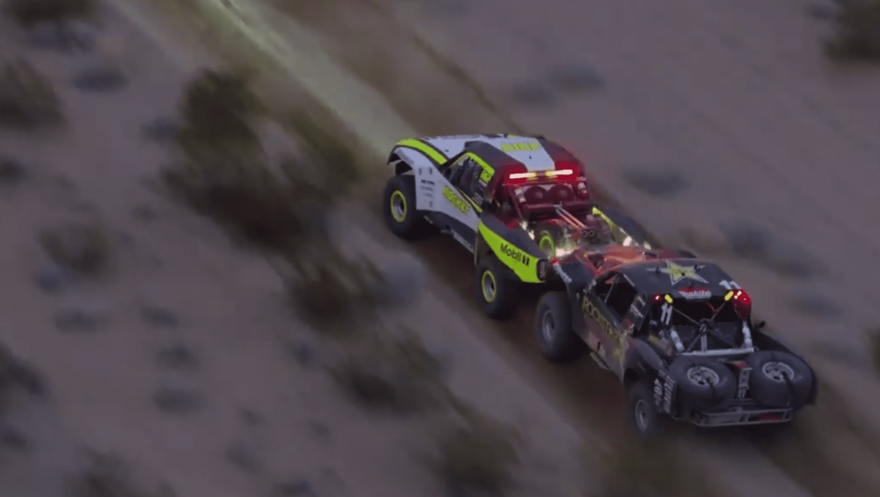 Jenson Button gets nerfed at the Mint 400
